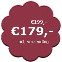 korting van €199 voor €179